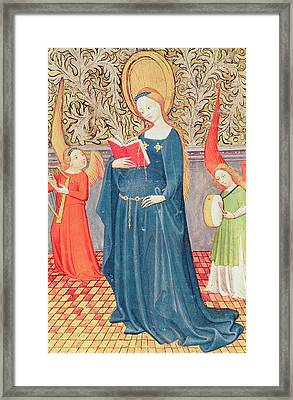 Saint Cecilia Framed Print by Flemish School