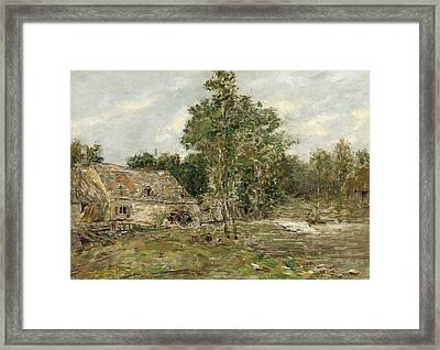 Saint-cenery The Mill Framed Print