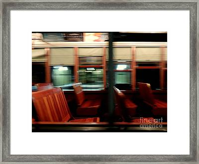 New Orleans Saint Charles Avenue Street Car In New Orleans Louisiana #6 Framed Print