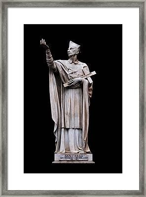 Saint Charles Borromeo Framed Print by Fabrizio Troiani