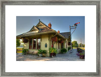 Saint Charles Station Framed Print