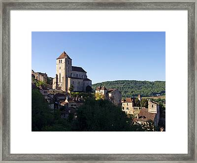 Saint Cirq La Popie France Lot Region Framed Print