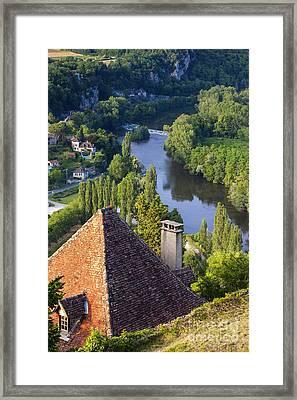 Saint Cirq Lapopie Framed Print by Brian Jannsen