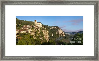 Saint Cirq Panoramic Framed Print