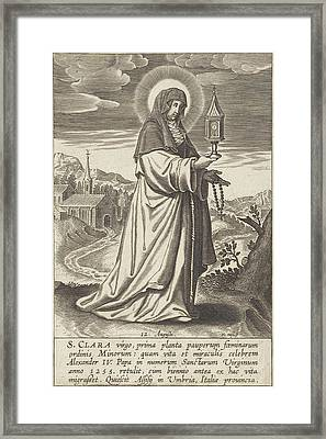 Saint Clare, Print Maker Michael Snijders Framed Print by Michael Snijders