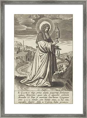 Saint Clare, Print Maker Michael Snijders Framed Print by Michael Snijders