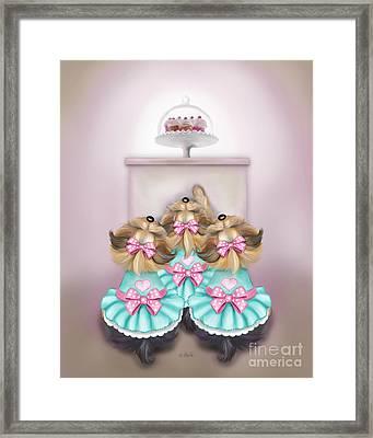 Saint Cupcakes Framed Print