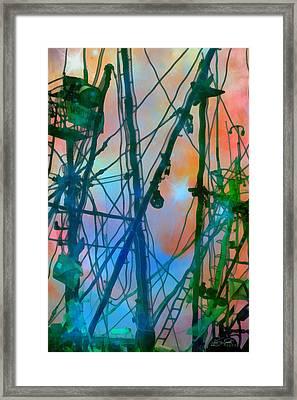 Saint Elmo's Fire Framed Print