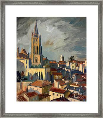 Saint Emilion Framed Print