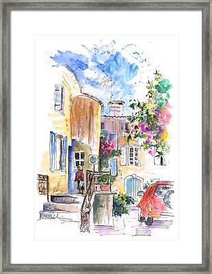 Saint Etienne Les Orgues Framed Print by Miki De Goodaboom