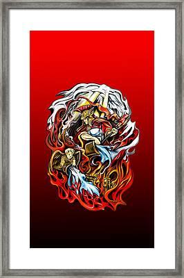 Saint Florian Framed Print by Michael Spano
