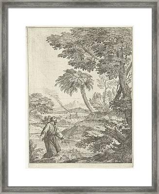 Saint Francis, Adriaen Van Der Kabel Framed Print