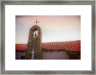Saint Francis Blessing Framed Print