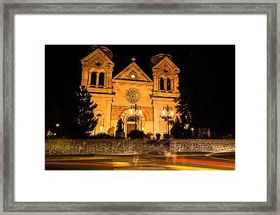 Saint Francis Cathedral Framed Print