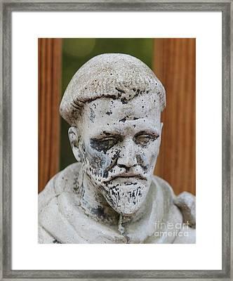 Saint Francis Framed Print by Cynthia Snyder