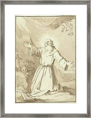 Saint Francis, Jurriaan Cootwijck Framed Print