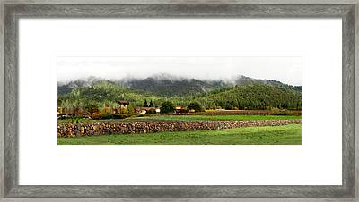 Saint Francis Winery Framed Print