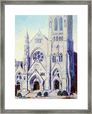 Saint Francis Xaviere College Church - St.louis Framed Print by Irek Szelag