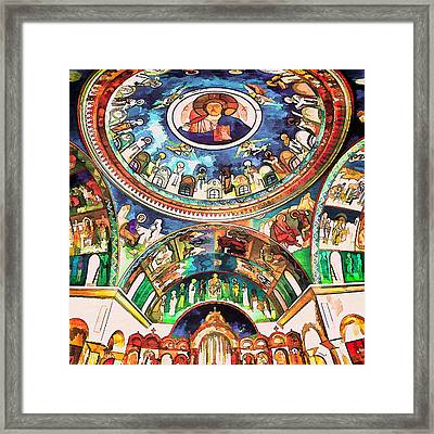 Saint George Above Framed Print