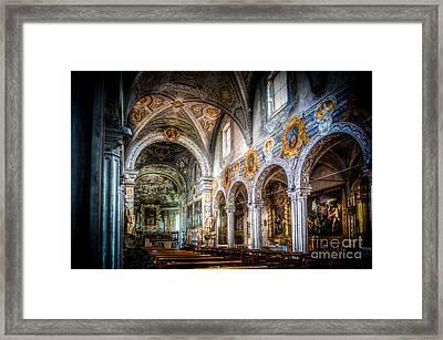 Saint George Basilica Framed Print by Traven Milovich