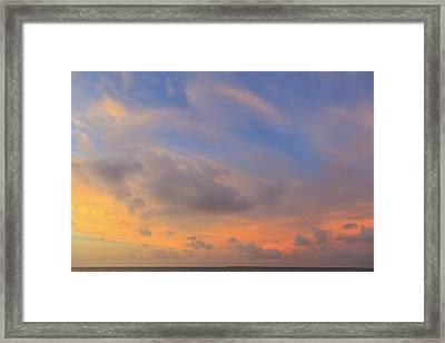 Saint Georges Caye Resort, Belize (pr Framed Print