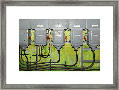 Saint-gobaine Fort Power Plant Framed Print by Chris Hellier