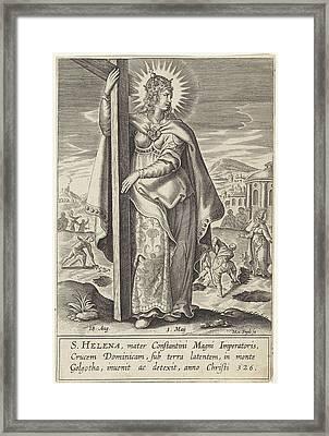 Saint Helena, Michael Snijders Framed Print
