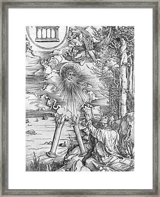 Saint John Framed Print by Albrecht Durer or Duerer