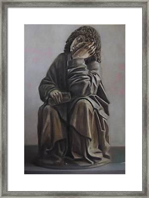 Saint John Dream Framed Print by Paez  Antonio