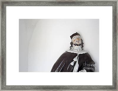 Saint John Of Nepomuk Framed Print by Agnieszka Kubica