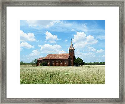 Saint John's Catholic Church Framed Print by The GYPSY And DEBBIE