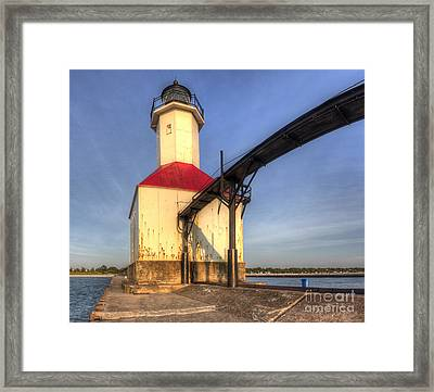 Saint Joseph Inner Range Lighthouse Framed Print by Twenty Two North Photography