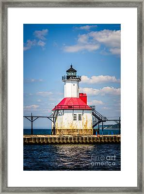Saint Joseph Lighthouse Picture Framed Print
