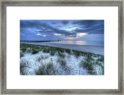 Saint Joseph Michigan Lighthouse Framed Print