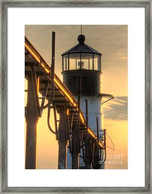 Saint Joseph Outer Range Light Framed Print by Twenty Two North Photography