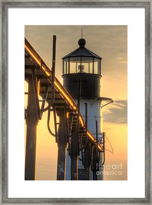 Saint Joseph Outer Range Lighthouse Framed Print by Twenty Two North Photography