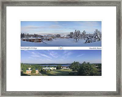 Saint Joseph's College 2013 Framed Print by John Hufstader