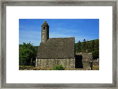 Saint Kevin's Church Framed Print by Aidan Moran