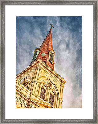 Saint Louis Cathedral Framed Print by Brenda Bryant