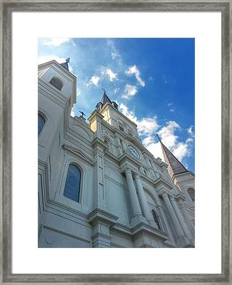 Saint Louis Cathedral  Framed Print