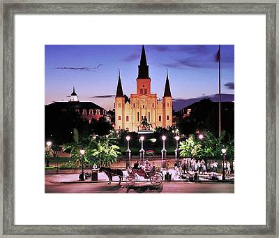 Saint Louis Cathedral New Orleans Framed Print