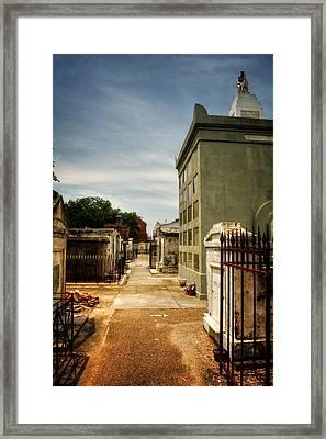 Saint Louis Cemetery Number 1 Framed Print