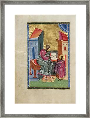 Saint Luke Malnazar, Armenian, Active About 1630s Framed Print