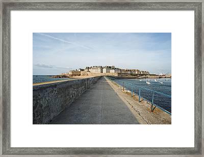 Saint Malo France Framed Print by Francesco Emanuele Carucci
