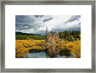 Framed Print featuring the photograph Saint Malo In Late Fall by Stephen  Johnson