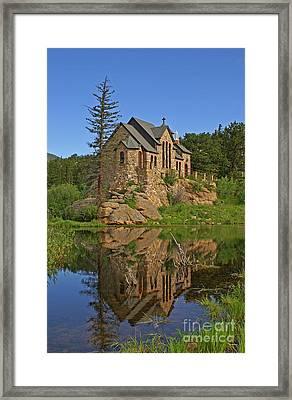 Saint Malo Reflection Framed Print