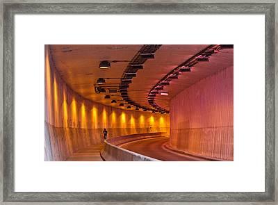 Saint-marc Tunnel Scene 1 Framed Print by Eric Soucy