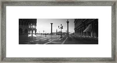 Saint Mark Square, Venice, Italy Framed Print