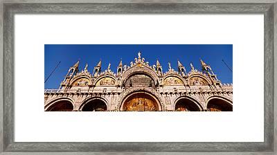 Saint Marks Basilica, Venice, Italy Framed Print