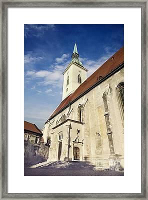 Saint Martins Cathedral  Framed Print